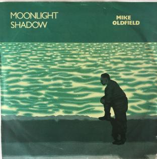 "Mike Oldfield ‎- Moonlight Shadow (7"") (G-VG/G++)"